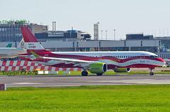 Bombardier CS300 / Airbus A220 YL-CSL Air Baltic (EI-DTG) Tags: dublinairport eidw 07jul2019 dub bombardier a220 airbus220 ylcsl airbaltic cs300 logojet