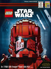 Sith Trooper Bust Is The LEGO Star Wars SDCC Exclusive (fbtb) Tags: 77901sithtrooperbust sdcc sdccexclusives