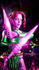 Armed (custombase) Tags: marvellegends xmen figures blink clarice ferguson teleportation mutant diorama toyphotography marvel