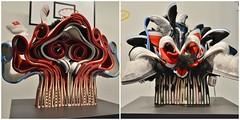 From Left to Right: Kenojuak #1 and Owl Drugs, Brian Jungen Friendship Centre, Art Gallery of Ontario, Toronto, ON (Snuffy) Tags: kenojuak1 owldrugs brianjungenfriendshipcentre artgalleryofontario ago toronto ontario canada