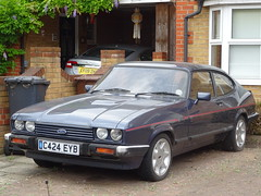 1985 Ford Capri 2.8 Injection (Neil's classics) Tags: 1985 ford capri 28 injection car