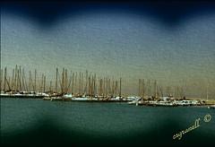 Marina Vinaros (csgranell) Tags: csgranell vinaròs vinaroz castellon castello comunidadvalenciana mar embarcaciones veleros barcos cielo azul azules puerto