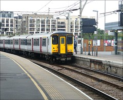 Greater Anglia Train No. 317649 at Stratford (Didimendum) Tags: emu greateranglia train 317649 stratford railwaytrain class317