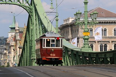 2019-06-09, Budapest, Szabadság Híd (Fototak) Tags: tram strassenbahn bkv budapest hungary lignen19 611