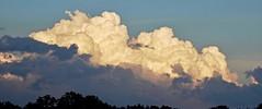 Storm Summits (brucecarlson66) Tags: sky storm cloud summit mountain like rise ahead vapor nature landscape silhouette tree blue red gray grey ominous dangerous lightning thunder rain beauty