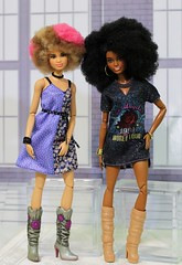 Dresses and Boots (Annette29aag) Tags: doll barbie rockerdrummer fashionista dolls redress redressed restyle photography annette29aag doc