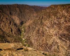 Painted Wall (droy0521) Tags: blackcanyon summer colorado gunnison nationalpark rock river outdoors landscape montrose canyon