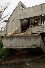 Brutalist staircase (Joe Lewit) Tags: variosonnart281635 brutalist architecture haroldholtswimmingcentre offformconcrete malvern melbourne 1967