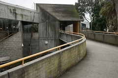 Brutalist ramp (Joe Lewit) Tags: variosonnart281635 brutalist architecture haroldholtswimmingcentre offformconcrete malvern melbourne 1967