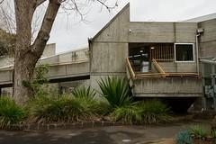 Brutalist entrance (Joe Lewit) Tags: variosonnart281635 brutalist architecture haroldholtswimmingcentre offformconcrete malvern melbourne 1967