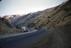 Trailer Travels (jericl cat) Tags: 5 freeway california 1958 1950s trailer life auto roadside pass mountain