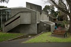 Brutalist architecture (Joe Lewit) Tags: variosonnart281635 brutalist architecture haroldholtswimmingcentre offformconcrete malvern melbourne 1967