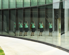 Architecture 3/3 (Robin Penrose) Tags: architecture human glass reflections mirror