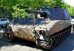 """M-108 105mm Self Propelled Howitzer 1 • <a style=""""font-size:0.8em;"""" href=""""http://www.flickr.com/photos/81723459@N04/48254440351/"""" target=""""_blank"""">View on Flickr</a>"""