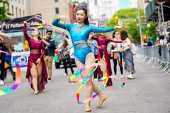NYC Dance Parade 2019 (Steven Pisano) Tags: dance danceparade nyc newyork ribbon