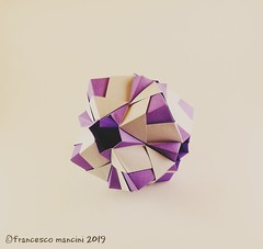 Mugen 12 (mancinerie) Tags: origami modularorigami papiroflexia paperfolding papierfalten francescomancini mancinerie geometry polyhedra octahedron paper
