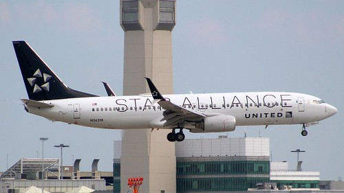 United Airlines Boeing 737 Star Alliance