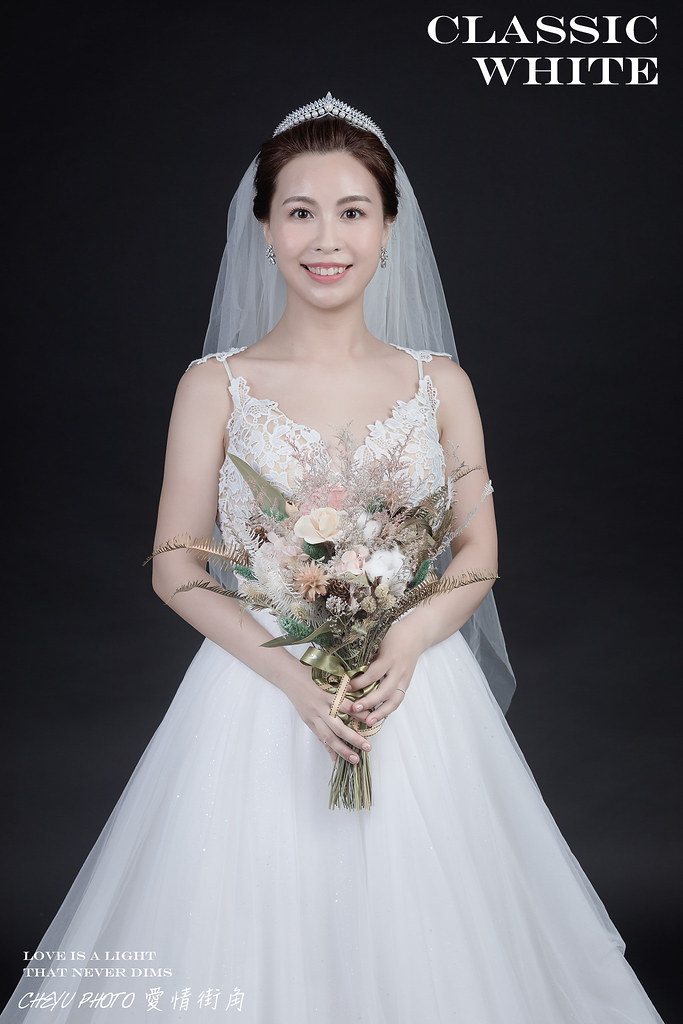 台南自助婚紗 讓你在棚內也能拍出韓劇般的韓系婚紗 inBlossom手工訂製婚紗