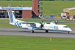 G-ECOR DHC-8Q 402 Flybe BHX 27-06-19 (PlanecrazyUK) Tags: egbb birminghaminternational birminghamairport bhx international birmingham gecor dhc8q402 flybe 270619