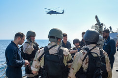 190709-N-JX484-082 (CNE CNA C6F) Tags: alliedmaritimecommand marcom nato snmg1 standingnatomaritimegroupone strongertogether ussgravely