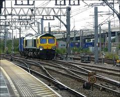 Freightliner No. 66414 approaches Stratford en-route to Felixstowe (Didimendum) Tags: freightliner 66414 stratford felixstowe