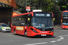 SN67 XBU (36691) Stagecoach London (hotspur_star) Tags: londontransport londonbuses londonbus londonbuses2019 alexanderdennisltd enviro200hmmc tfl transportforlondon hybridbus hybridtechnology busscene2019 singledeck stagecoachlondon sn67xbu 36691 181