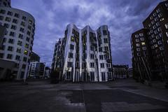 Düsseldorf0281Zollhafen (schulzharri) Tags: düsseldorf nrw deutschland germany europa europe architektur architecture glas modern haus building himmel gebäude stadt