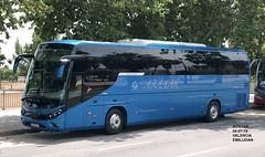 Scania Beulas Aura - Azahar KVL (emilijoan_2) Tags: autobus autocar bus busfan instabus spainbuses fotobusvalencia busesquegustan aficionautobusera busspotter azahar castellon blue beulas aura new travel trip