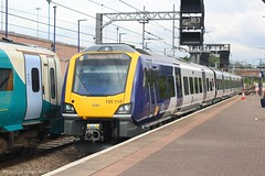 Northern 195118 (Mike McNiven) Tags: arriva railnorth northern dmu diesel multipleunit caf civity liverpool limestreet manchester manchesterairport airport