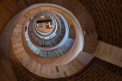 Winding Staircase (dopol50) Tags: bavocathedral haarlem church kerk
