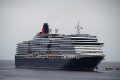 Queen Victoria (*lochiegirl*) Tags: queenvictoria stornoway isleoflewis outerhebrides scotland cruiseship cunard