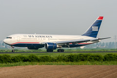 N646US (PlanePixNase) Tags: amsterdam ams eham schiphol planespotting airport aircraft usairways us boeing 767200 b762 767