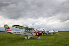 G-BYBD Cessna 172, Scone (wwshack) Tags: ce172 cessna cessna172 egpt psl perth perthkinross perthairport perthshire scone sconeairport scotland skylane gbybd