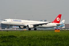 TC-JMA (PlanePixNase) Tags: amsterdam ams eham schiphol planespotting airport aircraft turkish turkishairlines airbus 321 a321