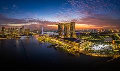The Dawn (Shutter wide shut) Tags: sunrise dawn singapore daybreak mbs drone marinabaysands m2p droneshot djimavic2pro mavic2pro