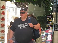 Lindos Grumpy Old Git (deltrems) Tags: grumpyoldgit grumpy old git tee shirt tshirt man person lindos rodos rhodes greek greece island