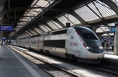 TGV Lyria 4401 (multituba) Tags: zurich tgv railway bahn
