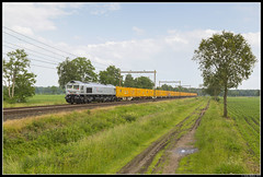 Rhein Cargo DE668, Staphorst (J. Bakker) Tags: rhein cargo rhc de668 de 668 class 66 bauer 50901 42626 staphorst basel t harde veendam