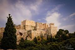 Acropolis of Athens (corineouellet) Tags: travel hdr colors trees acropolis acropole architecture canonphoto nature landscape grece greece athens athènes