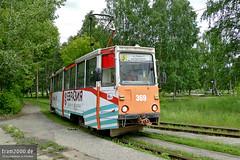 Perm (RUS) (Robert Leichsenring) Tags: perm russia russland tram tramway tramwaj tramvaj strassenbahn streetcar strasenbahn пермь трамвай ктм5 ktm5