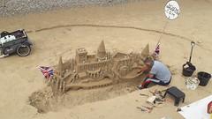Building sandcastles by the Thames (mike_j's photos) Tags: beach thames ernies sancastle southbank beachcaptaincom