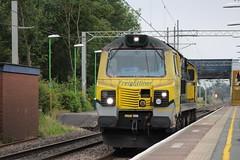 70 Light loco (Matty JC) Tags: actonbridgetrainstation actonbridgetrain trains diesel uk railways
