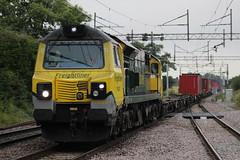 70 Intermodal (Matty JC) Tags: actonbridgetrainstation actonbridgetrain trains diesel uk railways
