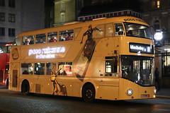 LTZ 1509, Charing Cross, December 28th 2016 (Southsea_Matt) Tags: england unitedkingdom routemaster wright charingcross greaterlondon goahead route11 nbfl lt509 ltz1509 summer bus night canon transport sigma august vehicle omnibus 2016 1850mm 60d