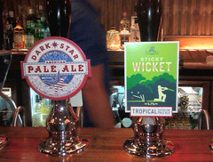 """Challenge Friday 2019, week 27, theme """"favourite tipple"""" (1) - This week's favourite tipple is Sticky Wicket (karenblakeman) Tags: challengefriday cf19 favouritetipple beer ale paleale stickywicket fullers 2019 july uk"""