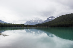Rainy day (Koku85 (Thanks for 1 million views)) Tags: banff canada cloudy lake landscape water nature