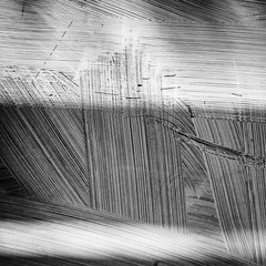 Scratch.jpg (Klaus Ressmann) Tags: omd em1 abstract china gulangyu klausressmann window winter xiamen blackandwhite design flcstrart shadows squareformat streetart omdem1