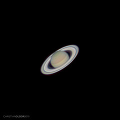 Saturn 2019 (Christian Gloor (mostly) underwater photographer) Tags: saturn rings cassini night astro astrophotography planet planetary