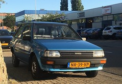1985 Toyota Starlet 1.3 DX Automatic (rvandermaar) Tags: 1985 toyota starlet 13 dx automatic ep70 p70 p7 toyotastarlet sidecode4 nr39vp