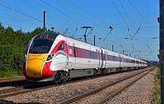 800108 (simmonsphotography) Tags: train railway railroad bedfordshire biggleswade langford eastcoast eastcoastmainline ecml highspeed lner intercity hitachi class800 azuma emu bimode electrodiesel multipleunit iep iet intercityexpressprogramme